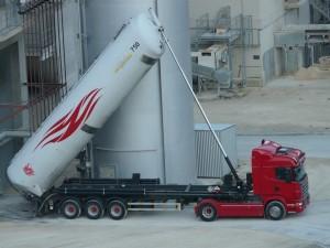 camión mercancías peligrosas